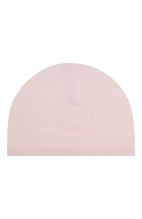 Детского кашемировая шапка TARTINE ET CHOCOLAT светло-розового цвета, арт. TH90011 | Фото 2
