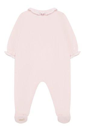 Детский хлопковый комбинезон TARTINE ET CHOCOLAT розового цвета, арт. TN54051 | Фото 2