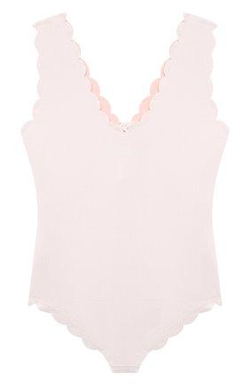 Детского слитный купальник MARYSIA BUMBY белого цвета, арт. B0043   Фото 2
