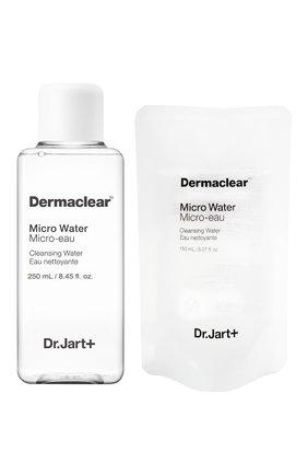 Женского биоводородная вода для очищения и тонизирования кожи dermaclear DR.JART+ бесцветного цвета, арт. 8809535805218 | Фото 1