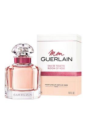 Женский туалетная вода mon guerlain bloom of rose GUERLAIN бесцветного цвета, арт. G013704   Фото 2
