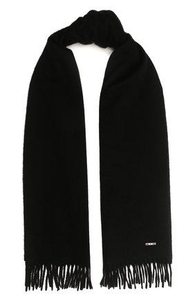 Женский кашемировый шарф grande unita LORO PIANA черного цвета, арт. FAA1056 | Фото 1 (Материал: Кашемир, Шерсть; Статус проверки: Проверена категория)