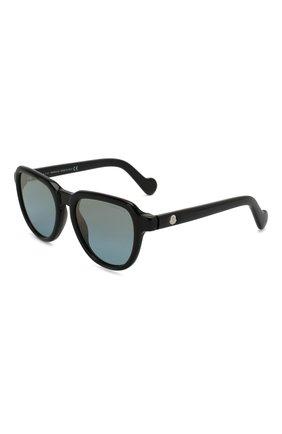 Мужские солнцезащитные очки MONCLER разноцветного цвета, арт. ML 0060 01X 51 С/З ОЧКИ 106088 | Фото 1