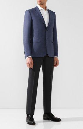 Мужской шерстяной пиджак BRIONI синего цвета, арт. RG0J0Q/P8A72/BRUNIC0 | Фото 2