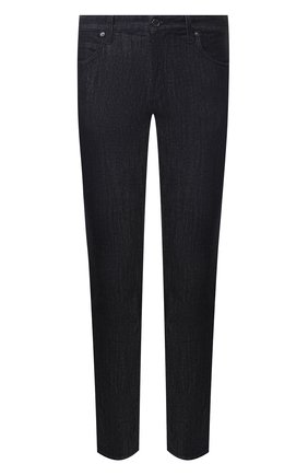 Мужские джинсы прямого кроя GIORGIO ARMANI синего цвета, арт. 3GSJ15/SD30Z | Фото 1