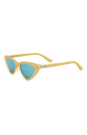 Детские солнцезащитные очки MONNALISA золотого цвета, арт. 993028 | Фото 1