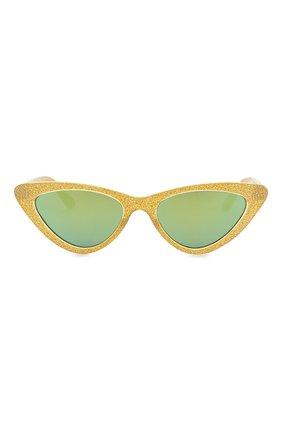 Детские солнцезащитные очки MONNALISA золотого цвета, арт. 993028 | Фото 2