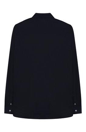 Детская хлопковая рубашка BILLIONAIRE синего цвета, арт. B19C BRP0067 BTE044N/12-16 | Фото 2