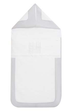 Детский хлопковый конверт TARTINE ET CHOCOLAT белого цвета, арт. TH72059 | Фото 1