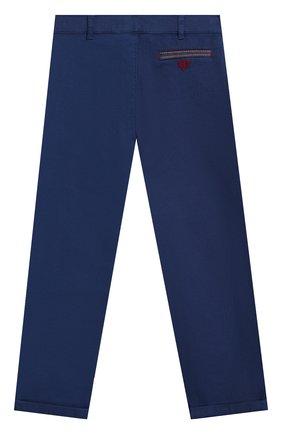 Детские хлопковые брюки TARTINE ET CHOCOLAT темно-синего цвета, арт. TN22091/4A-6A | Фото 2