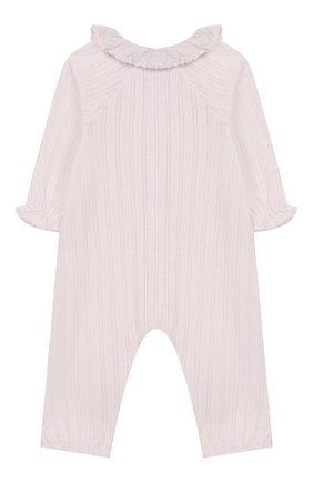 Детский хлопковый комбинезон TARTINE ET CHOCOLAT розового цвета, арт. TN32051 | Фото 2