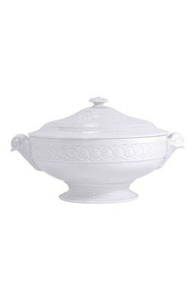 Мужского супница louvre BERNARDAUD белого цвета, арт. 0542/147 | Фото 1