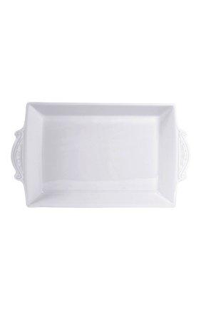 Мужского блюдо для хлеба louvre BERNARDAUD белого цвета, арт. 0542/3455 | Фото 1
