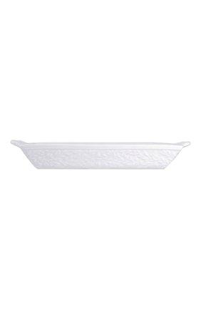 Мужского блюдо для хлеба louvre BERNARDAUD белого цвета, арт. 0542/3455 | Фото 2