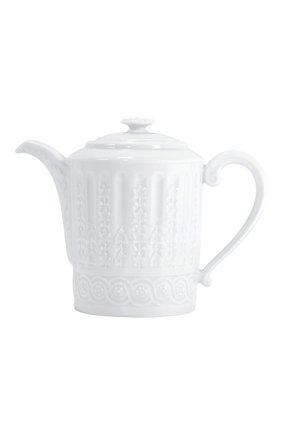 Мужская кофейник louvre BERNARDAUD белого цвета, арт. 0542/34 | Фото 1