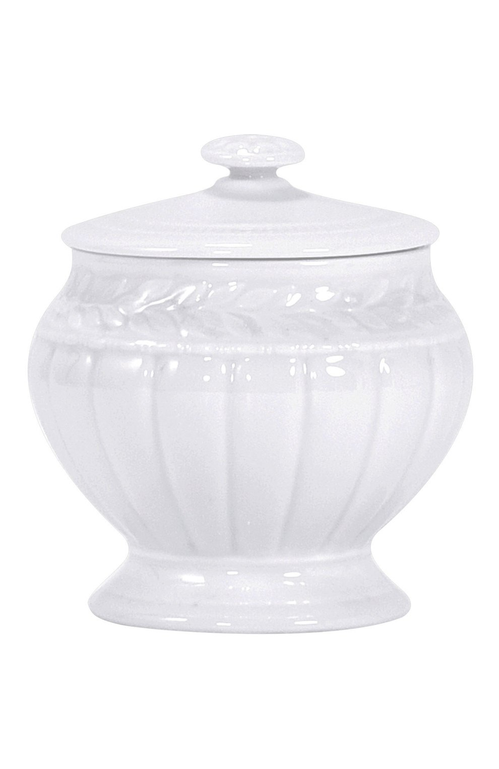 Мужского сахарница louvre BERNARDAUD белого цвета, арт. 0542/151 | Фото 1
