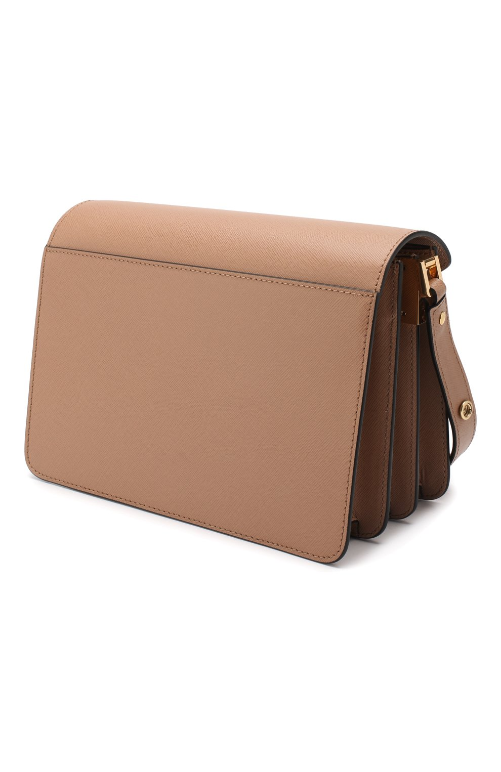 Женская сумка trunk MARNI светло-коричневого цвета, арт. SBMPN09N01/LV520 | Фото 3