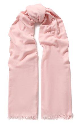 Мужские шерстяной шарф gift of kings LORO PIANA розового цвета, арт. FAF6040 | Фото 1