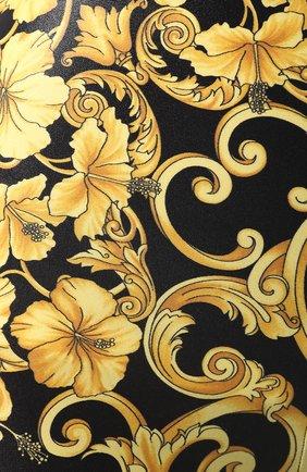 Леггинсы с принтом Versace черные | Фото №5