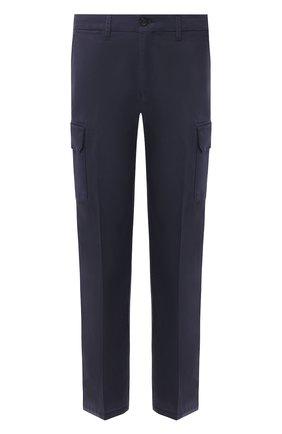 Хлопковые брюки карго    Фото №1