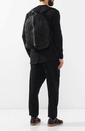 Мужской кожаный рюкзак GIORGIO BRATO черного цвета, арт. BS19S2907V   Фото 2 (Статус проверки: Проверена категория; Материал: Натуральная кожа)