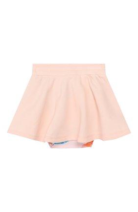 Детская комплект из юбки и трусов KENZO светло-розового цвета, арт. KN27007/2A | Фото 2