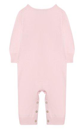 Детский кашемировый комбинезон TARTINE ET CHOCOLAT светло-розового цвета, арт. TH32021 | Фото 2