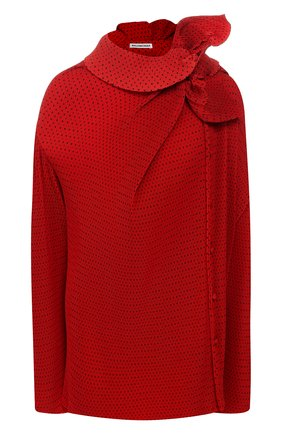 Блузка асимметричного кроя | Фото №1