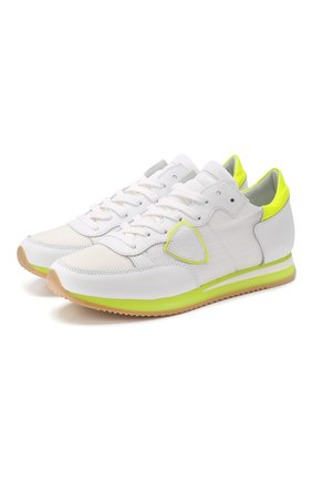 Комбинированные кроссовки Tropez | Фото №1