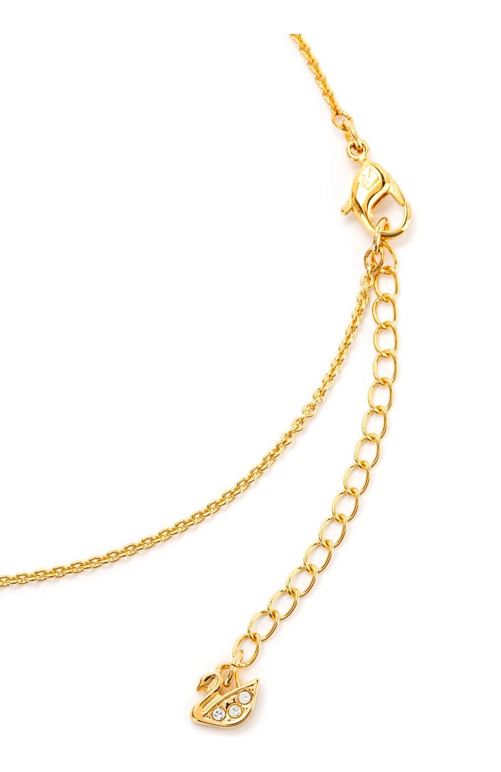 Женская колье oz SWAROVSKI золотого цвета, арт. 5459394   Фото 3