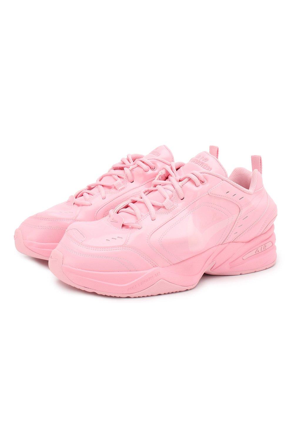 74b413400 Кожаные кроссовки NikeLab x Martine Rose Air Monarch IV NikeLab розовые |  Фото №1