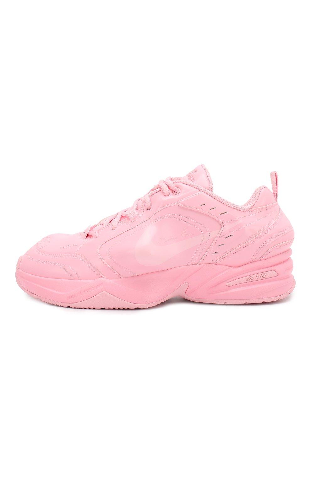 2f76e8a92 Кожаные кроссовки NikeLab x Martine Rose Air Monarch IV NikeLab розовые |  Фото №3