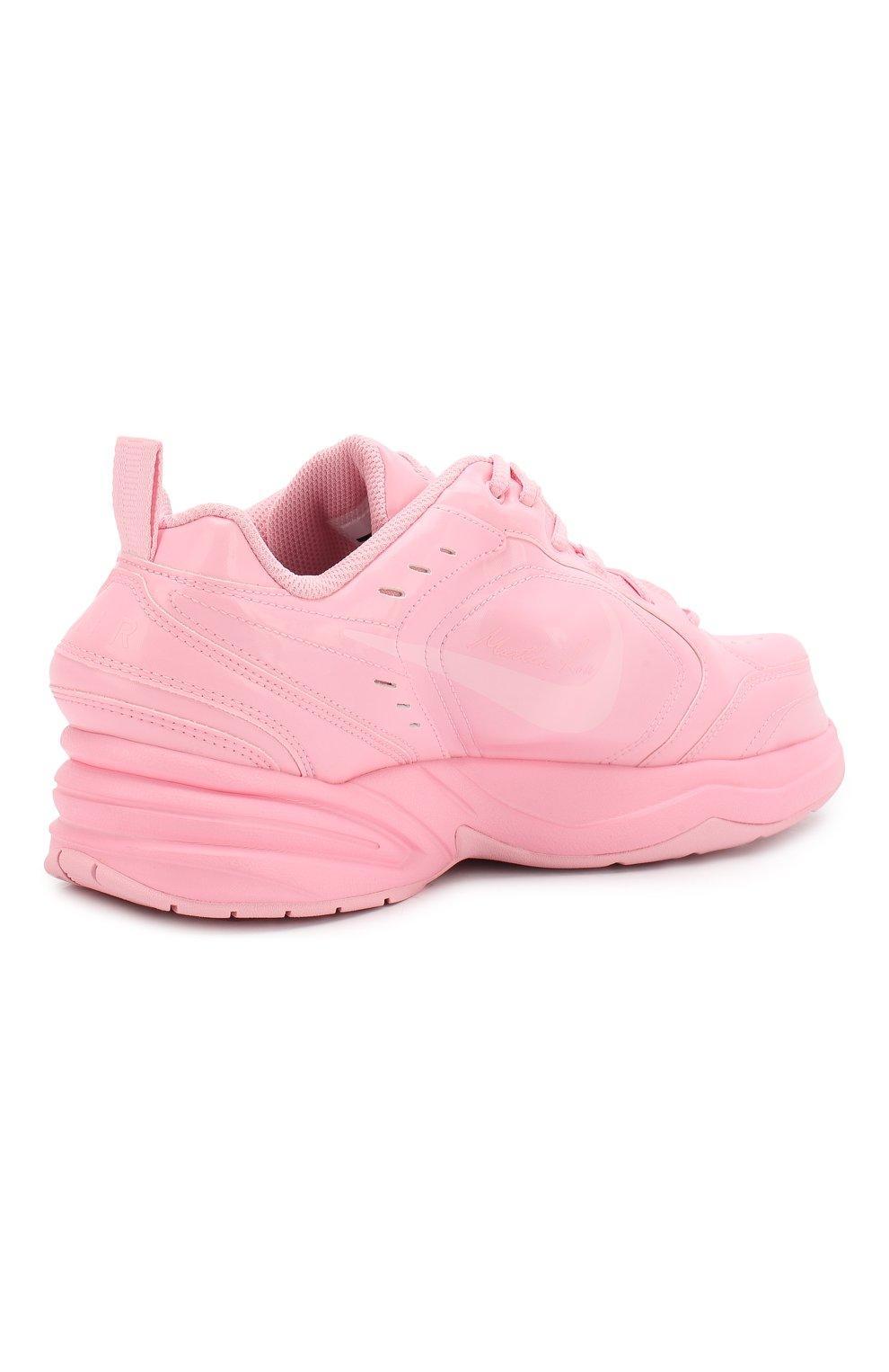 f338a8d60 Кожаные кроссовки NikeLab x Martine Rose Air Monarch IV NikeLab розовые |  Фото №4