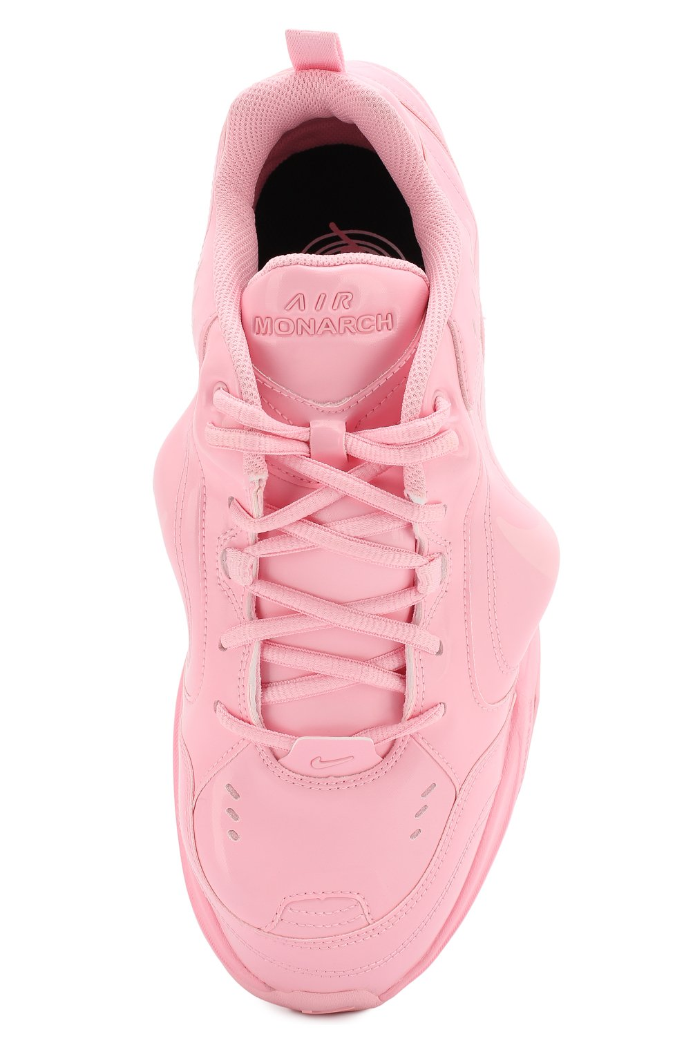 84cefbad0 Кожаные кроссовки NikeLab x Martine Rose Air Monarch IV NikeLab розовые |  Фото №5