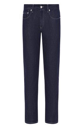 Мужские джинсы прямого кроя GIORGIO ARMANI синего цвета, арт. 3GSJ50/SD94Z | Фото 1
