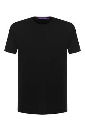 Мужская хлопковая футболка RALPH LAUREN черного цвета, арт. 790508153 | Фото 1