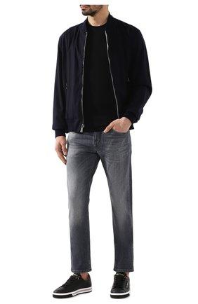 Мужская хлопковая футболка RALPH LAUREN черного цвета, арт. 790508153 | Фото 2