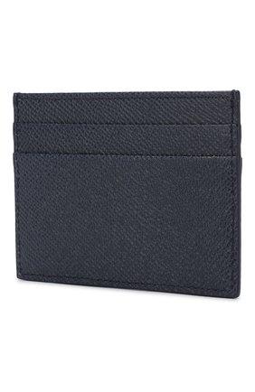 Мужской кожаный футляр для кредитных карт DOLCE & GABBANA синего цвета, арт. BP0330/AZ602 | Фото 2