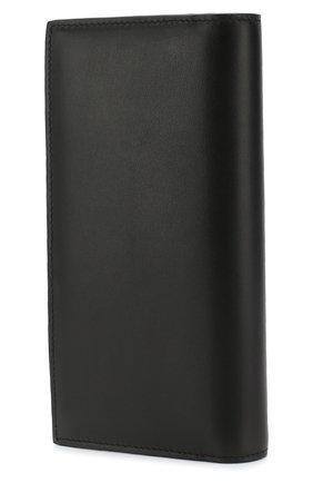 Мужская кожаный футляр для документов DOLCE & GABBANA черного цвета, арт. BP1670/AZ106 | Фото 2