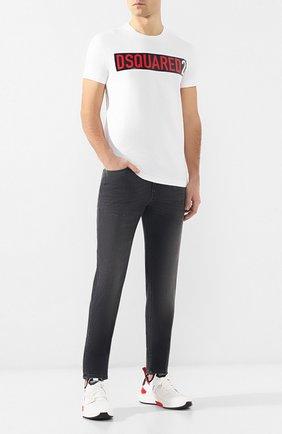 Мужские джинсы прямого кроя Z ZEGNA темно-серого цвета, арт. VS722/ZZ500   Фото 2