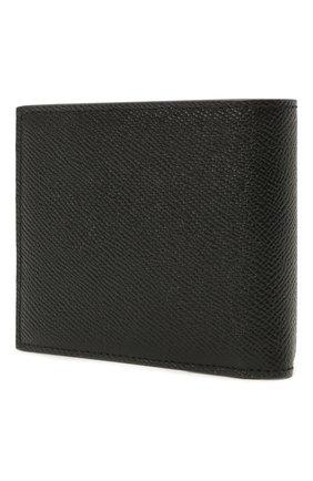Мужской кожаное портмоне DOLCE & GABBANA черного цвета, арт. BP1321/AZ602 | Фото 2
