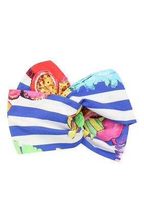 Детская хлопковая повязка на голову STELLA JEAN KIDS разноцветного цвета, арт. J/JF/EF01/0358 | Фото 1