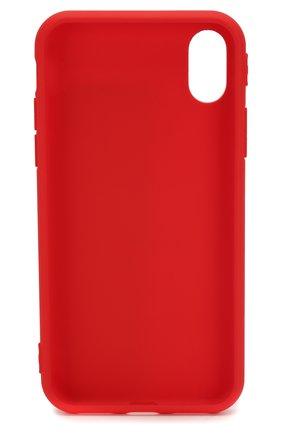 Мужской чехол для iphone x/xs  MISHRABOO красного цвета, арт. Kokoshnik X | Фото 2
