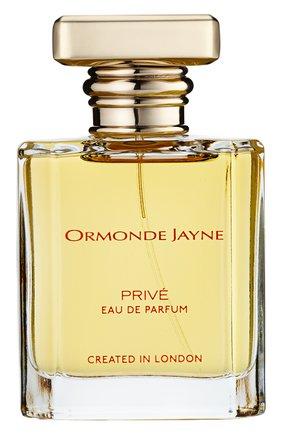 Парфюмерная вода prive ORMONDE JAYNE бесцветного цвета, арт. 5060238283458 | Фото 1