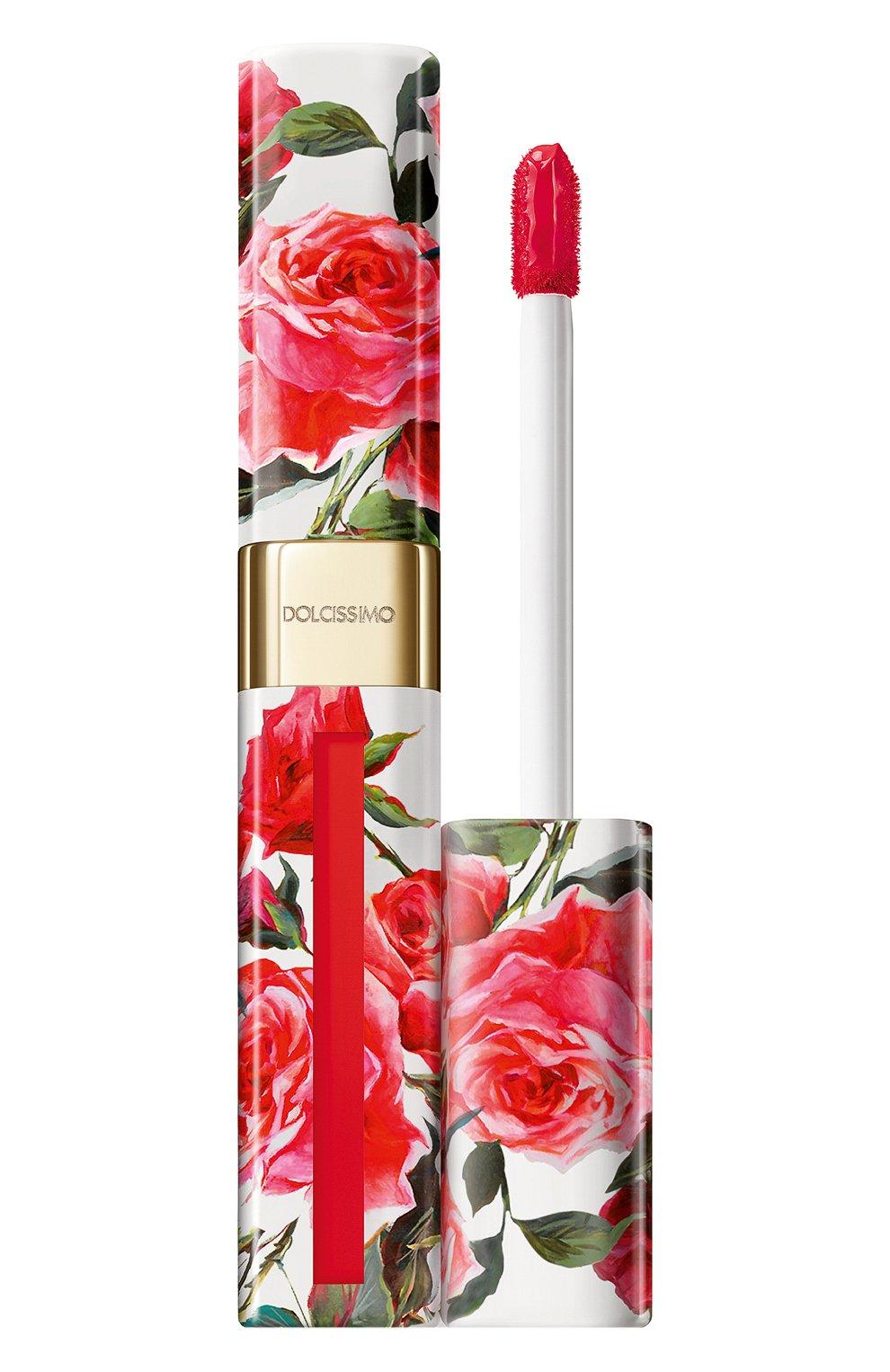 Женская матовый лак для губ dolcissimo, оттенок 69 love DOLCE & GABBANA бесцветного цвета, арт. 8577650DG | Фото 1