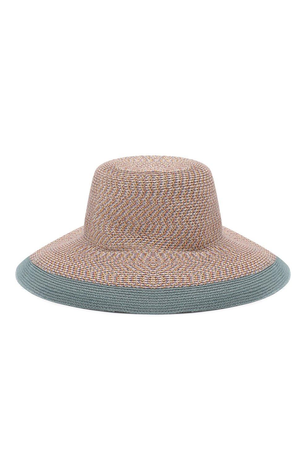 Плетеная шляпа Inverni разноцветного цвета | Фото №2