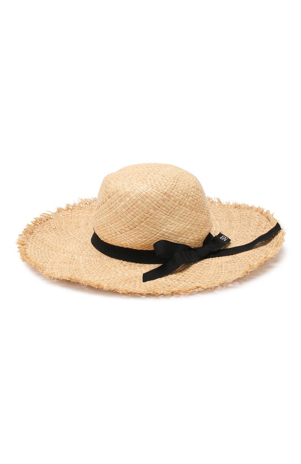 Соломенная шляпа Sonia Rykiel Enfant бежевого цвета | Фото №2