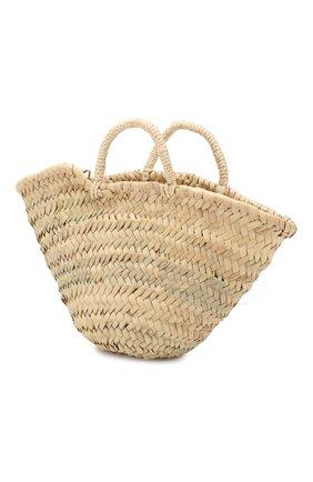 Детская соломенная сумка SONIA RYKIEL ENFANT бежевого цвета, арт. 19S1AC07   Фото 2