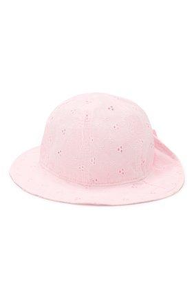 Хлопковая панама Catya розового цвета | Фото №2