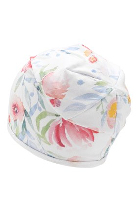 Детского хлопковая шапка CATYA разноцветного цвета, арт. 913081 | Фото 2